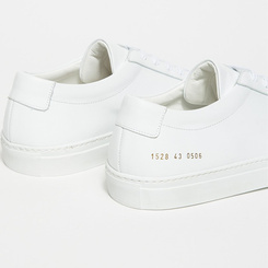 Белые кеды Common Projects 4386