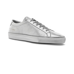 Серебристые кеды Common Projects 4384