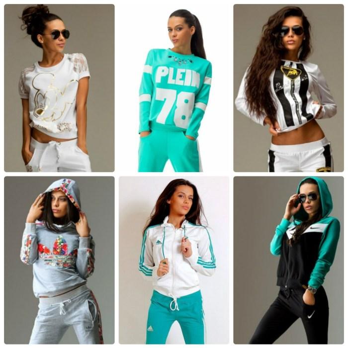 Мода спортивные костюмы 2017 женские