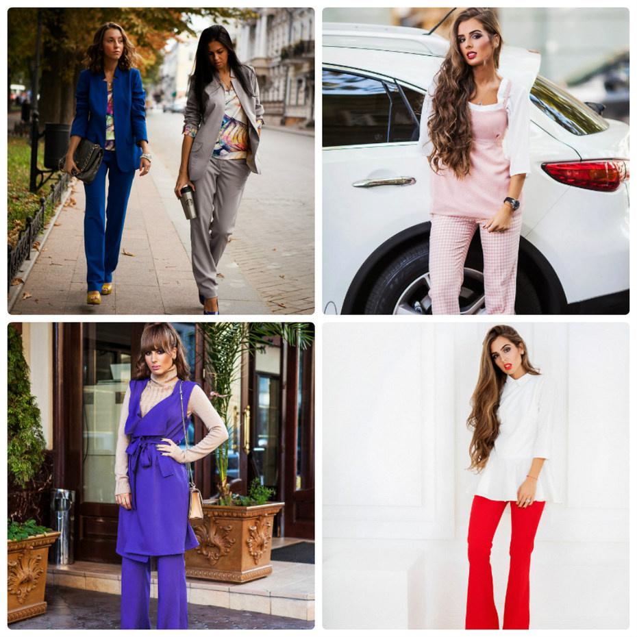 Модные Женские Костюмы Доставка