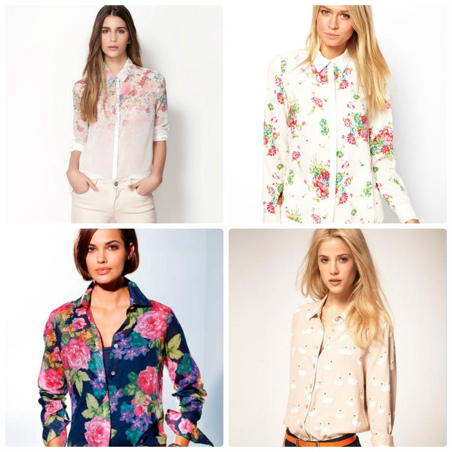 960fa97443b Женские шелковые рубашки всегда были и будут актуальными. Их можно увидеть  практически в любом модном показе в различных вариациях.