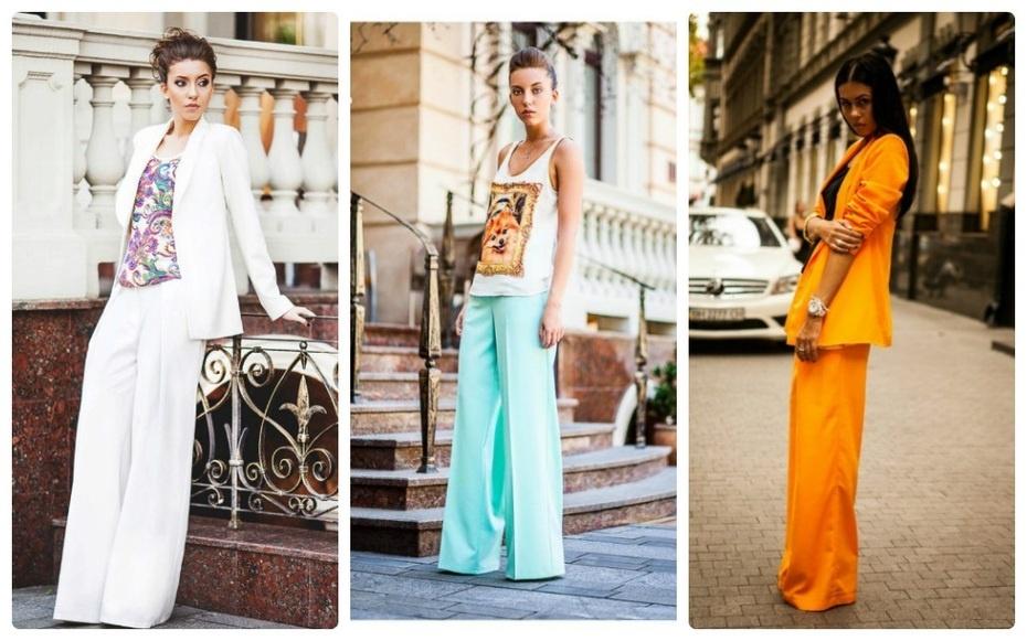 Женские яркие летние костюмы