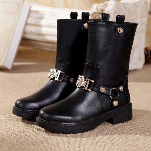 7fa249fd4938 Ботинки Versace 3414. Женские сапоги и ботинки Versace купить по ...