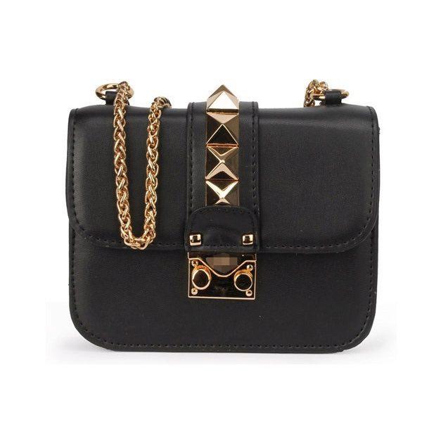 84211bf22529 Черная сумка Valentino Garavani mini 3725-1. Сумки на плечо ...
