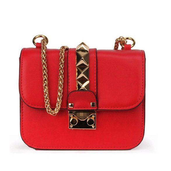 9b12ce38be27 Красная сумка Valentino Garavani mini 3725-3. Сумки на плечо ...