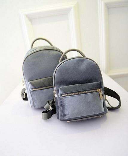a3de415159fd Велюровый рюкзак 12348. Женские рюкзаки Другие купить по лучшей цене ...