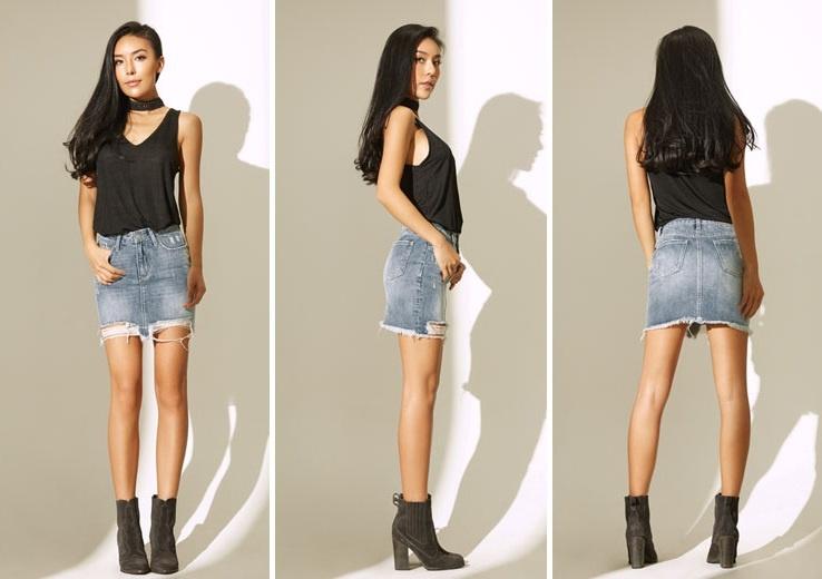 Джинсовые юбки стоимость