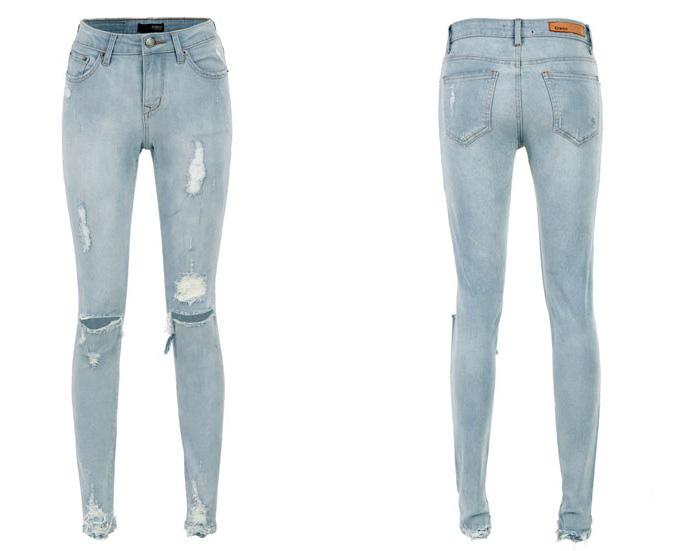 Модные рваные джинсы доставка