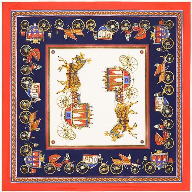 f3a6f2a6311c Платок в стиле Hermes 11766. Женские шарфы и перчатки Другие купить по  лучшей цене в интернет магазине