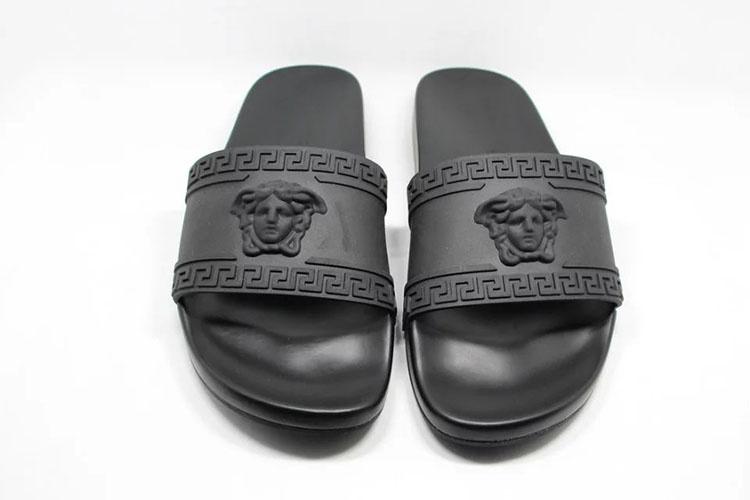 e7f2a76a7aa7 Шлепанцы Versace 4432. Мужские сандалии, шлепанцы Versace купить по ...