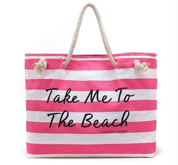 3820089908bb Пляжная сумка Victoria Secret 12260. Сумки на руку Victoria's Secret ...