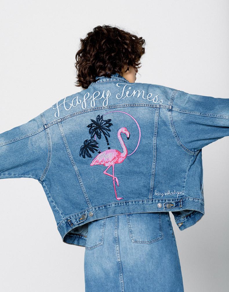Рисунки для вышивки джинсовой куртки