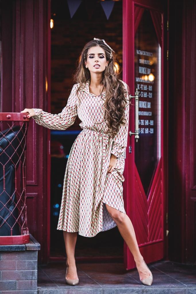 d9077a065f8 Платье длины midi Be trendy! 12367. Женские платья Be trendy! купить ...