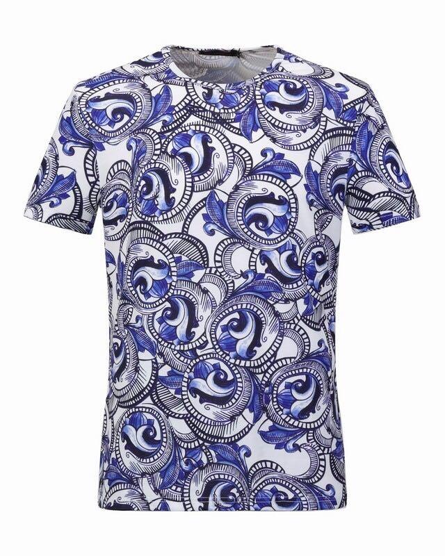 8520e22e7802f Яркая футболка Versace 5011. Мужские футболки Versace купить по ...