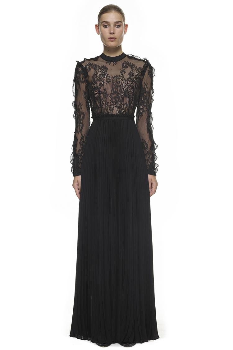 6f30b486c8f01bc Черное вечернее платье 13072. Женские платья Другие купить по лучшей ...