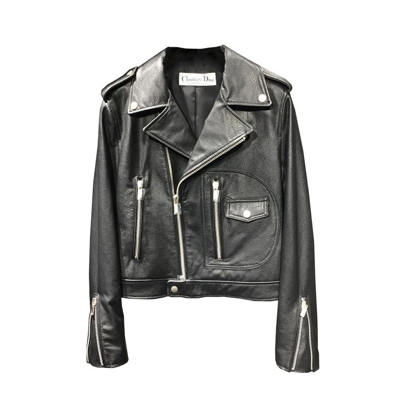 d7950b324670 Кожаная куртка Christian Dior 6240. Женские кожаные куртки Dior ...