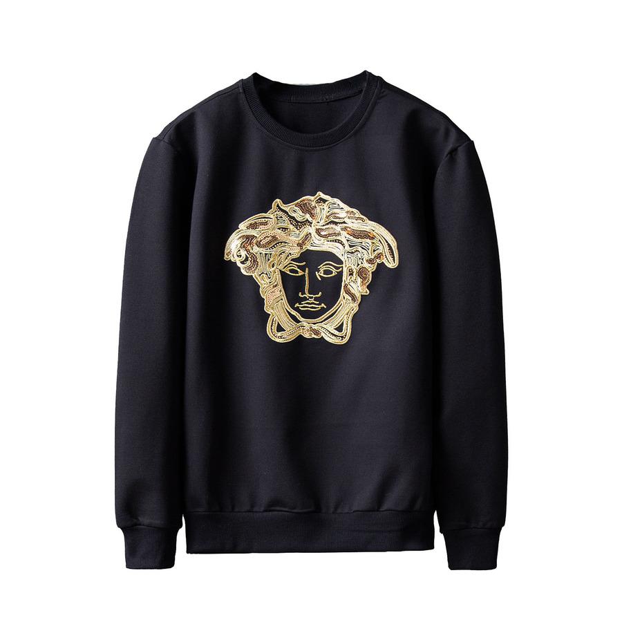 bf2a453bb9c3 Черный свитшот Versace 6314. Мужские толстовки Versace купить по ...