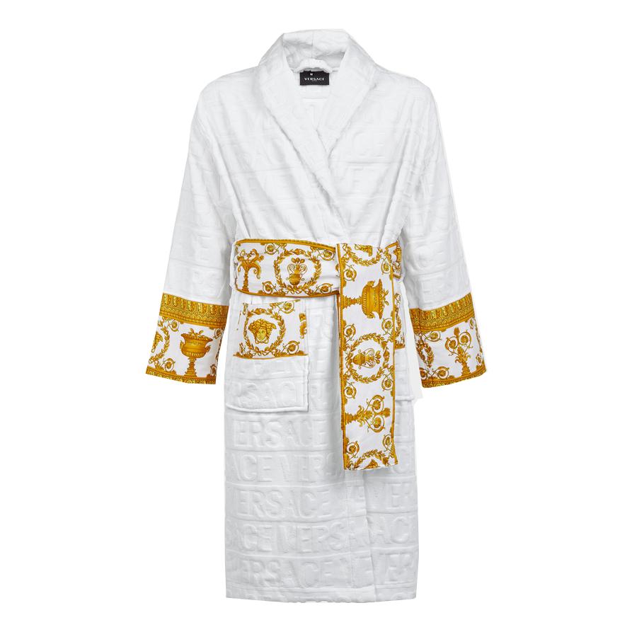 c59687bbd7e3a Белый халат Versace BAROQUE 7433. Мужское нижнее белье Versace ...