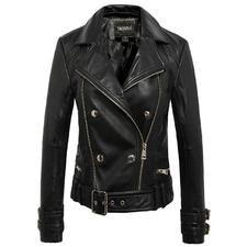 ccf9b97c919 Женские кожаные куртки. Купить модные кожаные куртки в интернет ...
